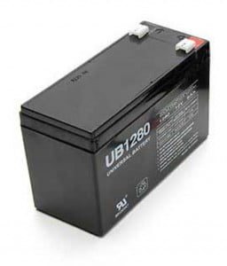 fish finder battery