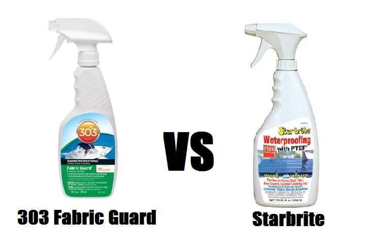 303 fabric guard vs starbrite